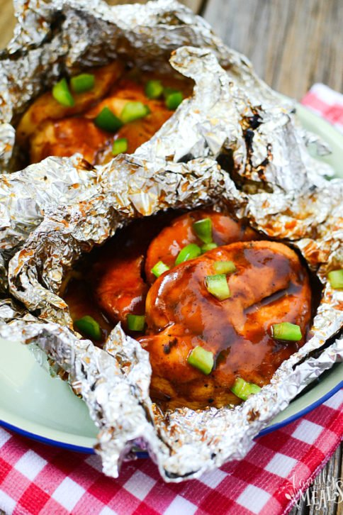 Hawaiian Chicken Foil Packets Recipe - Family Fresh Meals