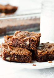 Mom's Killer Caramel Brownies