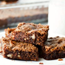 Mom's Killer Caramel Brownies