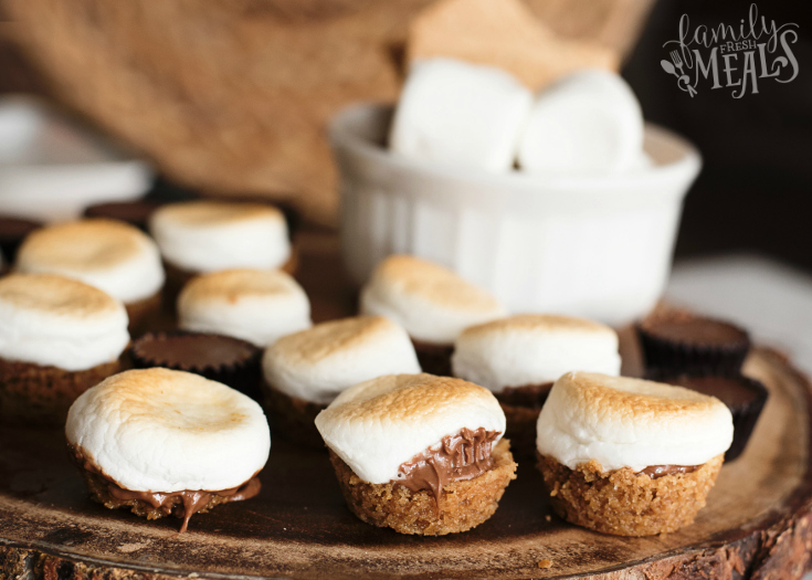 Peanut Butter Cup Smore Bites - Step 7