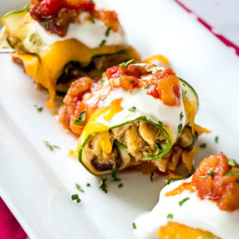 Zucchini Taco Roll Ups Recipe - Family Fresh Meals