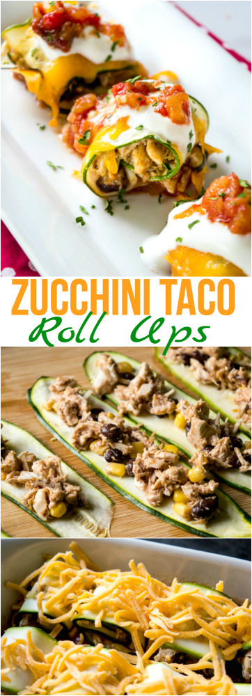 Zucchini Taco Roll Ups Recipe - Family Fresh Meals recipe