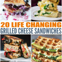 Life Changing Grilled Cheese Sandwiches