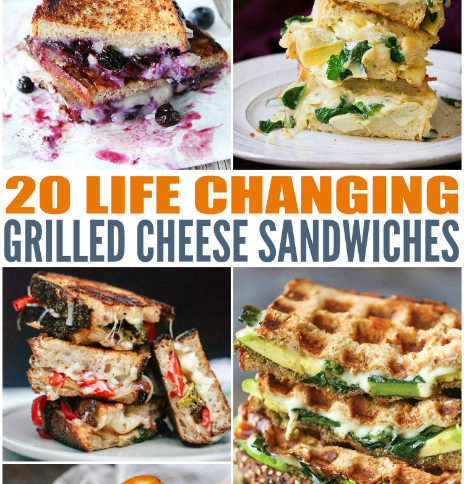 Life Changing Grilled Cheese Sandwiches - Family Fresh Meals