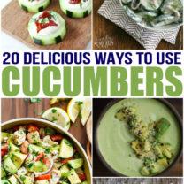 20 Delicious Cucumber Recipes