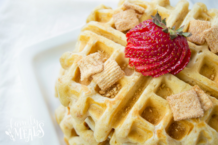 Cinnamon Toast Crunch Waffles - Step 5