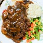 Crockpot Salisbury Steak Recipe - Family Fresh Meals Recipe