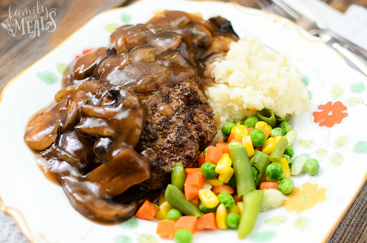 Crockpot Salisbury Steak Recipe - Step 6