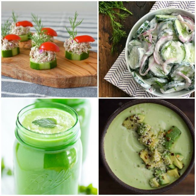 20 Delicious Cucumber Recipes