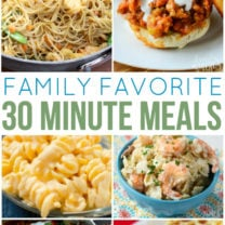 Family Favorite 30 Minute Meals