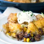 Mexican Tater Tot Casserole Recipe - Family Fresh Meals