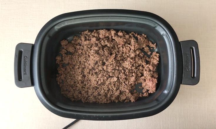 Crockpot Cincinnati Chili - Step 1