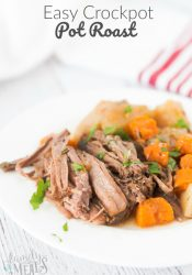 Easy Crockpot Pot Roast