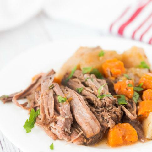 Easy Crockpot Pot Roast - Recipe - Family Fresh Meals