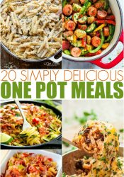 Simply Delicious and Easy One Pot Meals