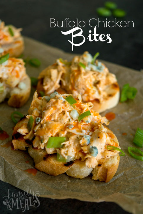 Buffalo Chicken Bites Recipe - Family Fresh Meals Appetizer