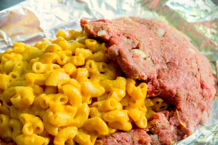 Mac and Cheese Stuffed Meatloaf - Step 5