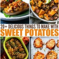Easy Sweet Potato Recipes