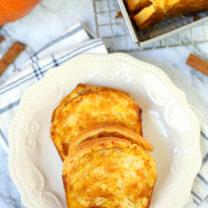 Easy Pumpkin Caramel Pull Apart Bread
