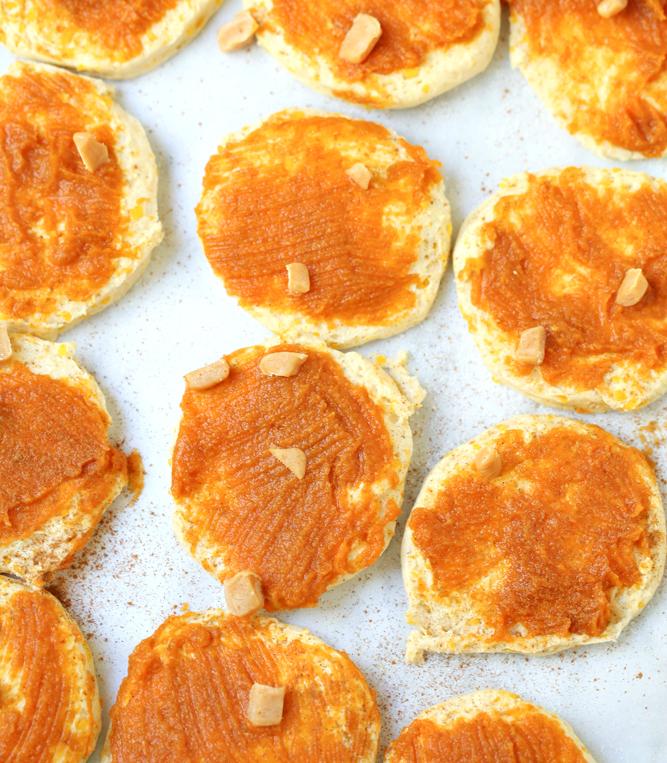 Easy Pumpkin Caramel Pull Apart Bread - Step 3