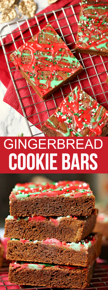 Gingerbread Cookie Bars Recipe - Family Fresh Meals
