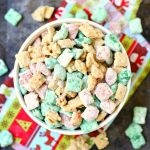 Holiday Muddy Buddies Chex Mix Recipe