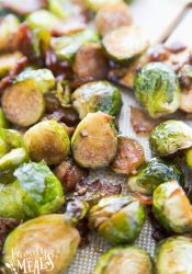 Honey Bacon Brussels Sprouts