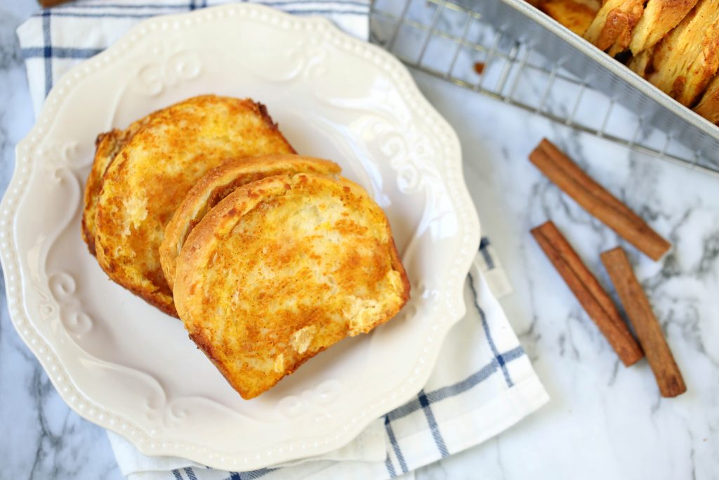 Easy Pumpkin Caramel Pull Apart Bread - Step 2