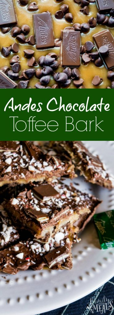 Andes Chocolate Toffee Bark -- Family Fresh Meals Recipe