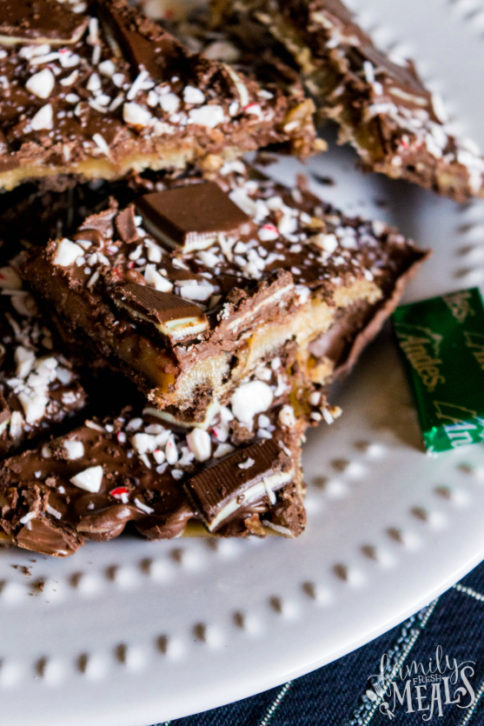 Andes Chocolate Toffee Bark - Family Fresh Meals recipe