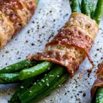Bacon Wrapped Green Bean Bundles - Family Fresh Meals -