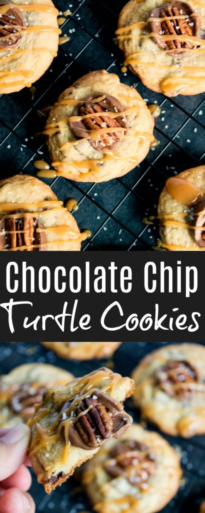 Chocolate Chip Turtle Cookies - Family Fresh Meals - -