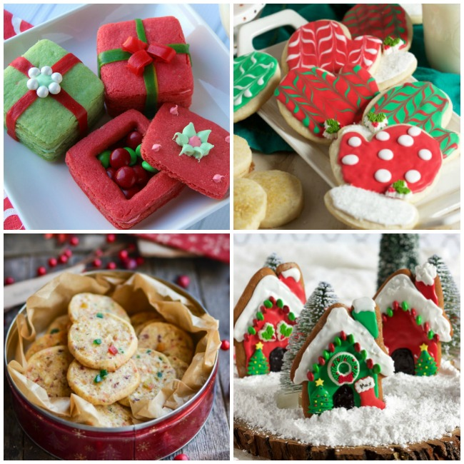 Family Favorite Christmas Cookies Recipes - 4 different cookies