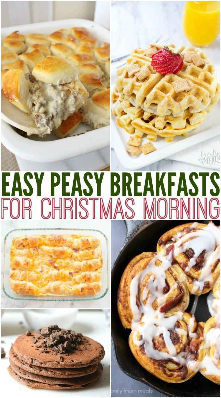 Easy Christmas Morning Breakfast Recipes Family Fresh Meals