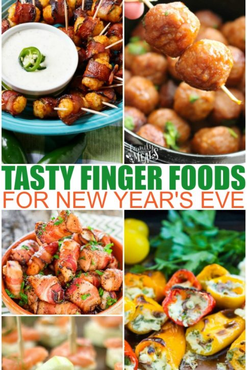 Finger Foods Appetizers For New Years Eve - Family Fresh Meals