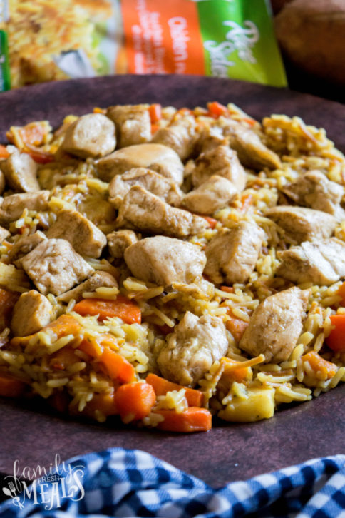 One Pot Winter Vegetables Chicken and Rice - Family Fresh Meals Recipe -