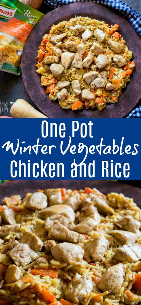 One Pot Winter Vegetables Chicken and Rice --- Family Fresh Meals - Recipe