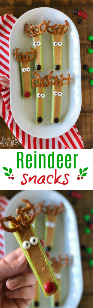 Reindeer Snacks Fun Holiday Treat - Family Fresh Meals (1)