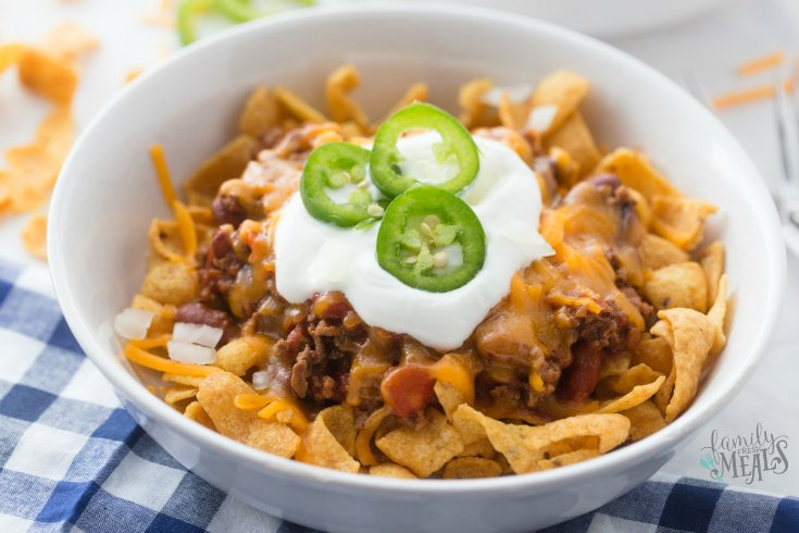 Crockpot Frito Pie - Family Fresh Meals