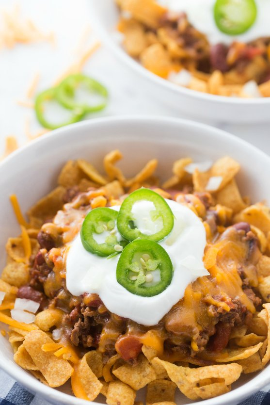 Crockpot Frito Pie - family favorite recipe