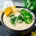 Crockpot White Queso Dip