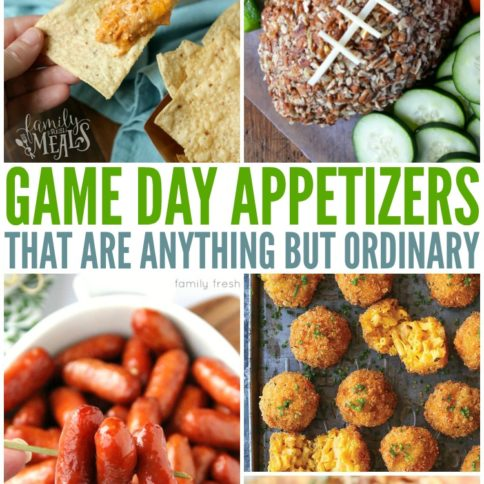 The Best Game Day Appetizers - Family Fresh Meals