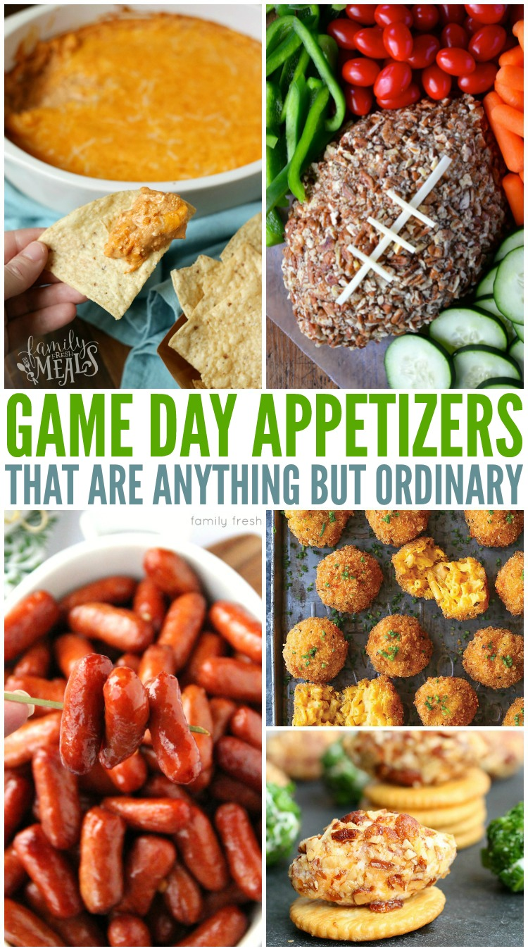 The Best Game Day Appetizers Family Fresh Meals
