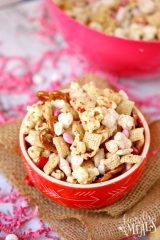 Valentine's Day Snack Mix with Free Printables