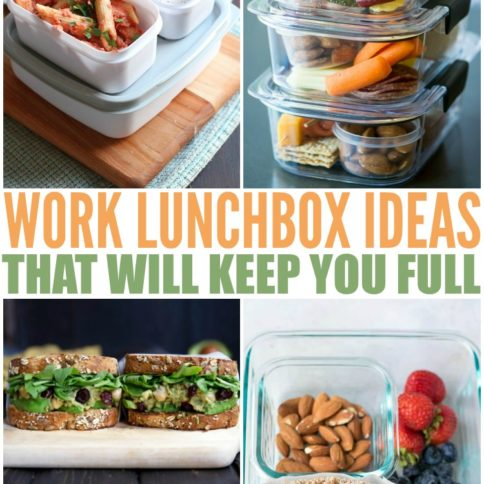 Healthy Work Lunch Ideas To Keep You Full