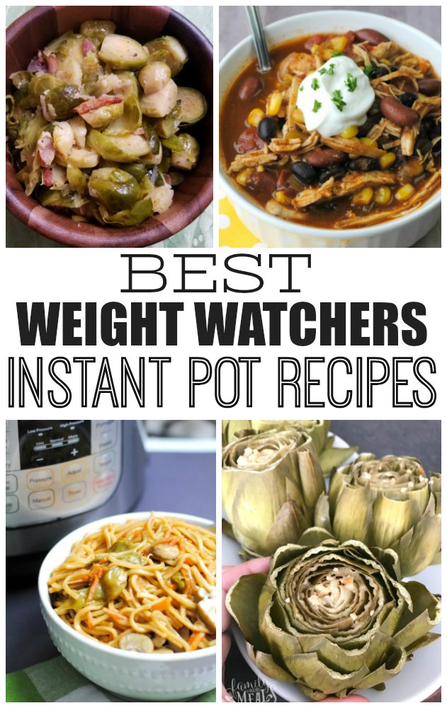 The best weight watchers instant pot recipes - Family Fresh Meals