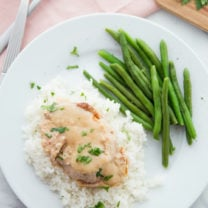 Creamy Crockpot Pork Chops