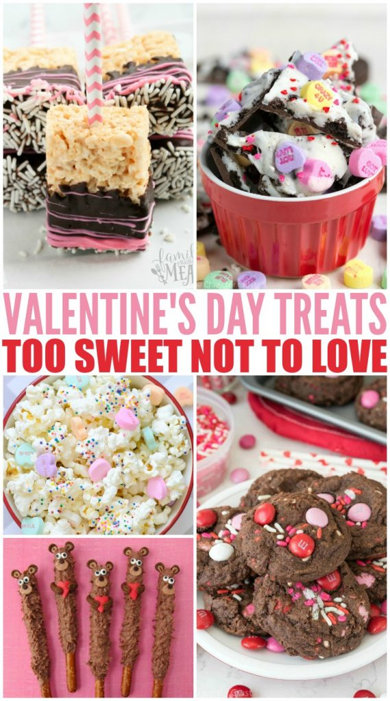 Valentine's Day Treat Recipes - Family Fresh Meals