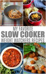 Freestyle Weight Watchers Crockpot Recipes
