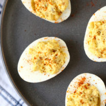 Blue Ribbon Deviled Eggs